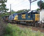 CSX 4452, 210, 799 on Q439.
